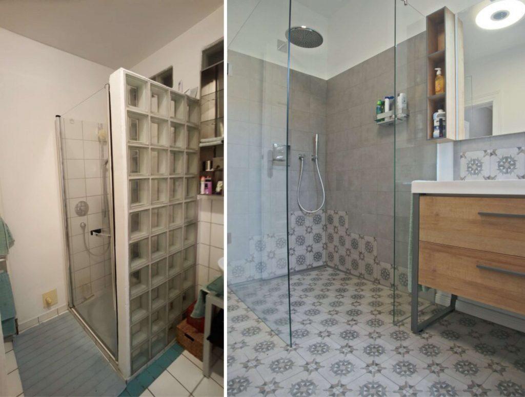 Walk-In, Badezimmer Renovierung